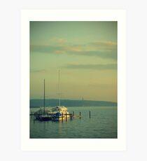 Yachting... Art Print