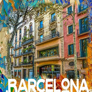 Barcelona by martianred