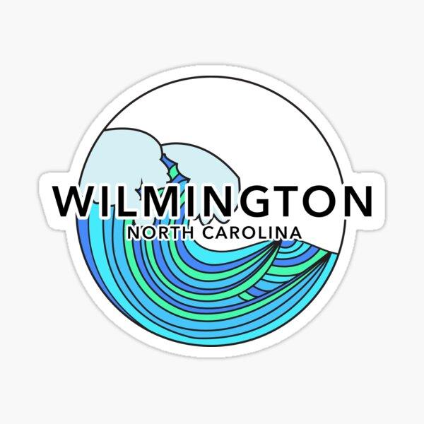Wilmy Waves Sticker