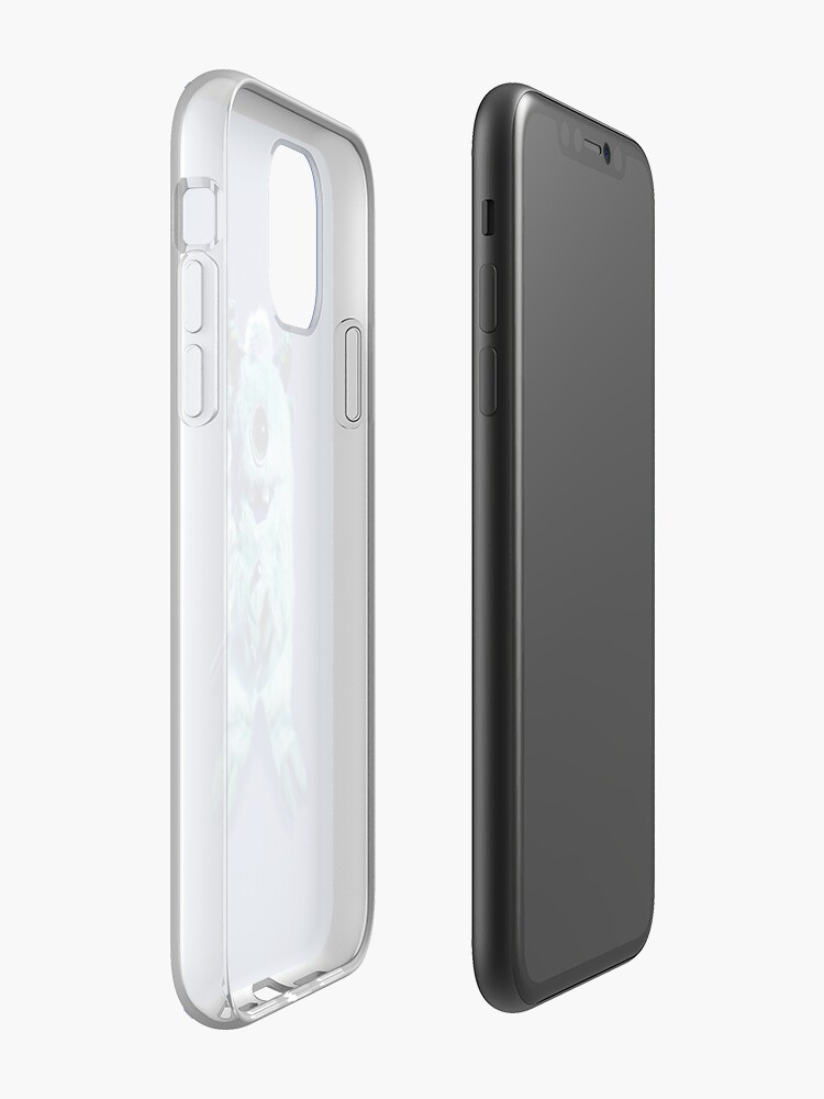 coque apple nectarine | Coque iPhone «Chanteur mangeur de personnes aux yeux», par JLHDesign