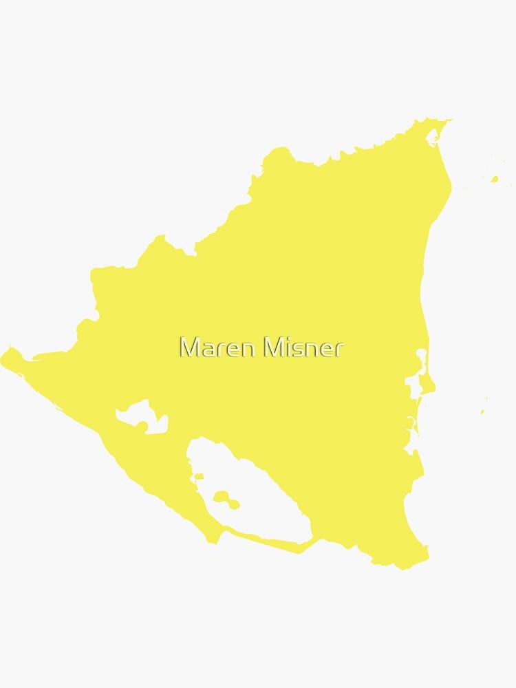 Nicaragua-Liebe in Zitronengelb von marenmisner