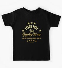 Tyson der Zigeuner König Wut Kinder T-Shirt