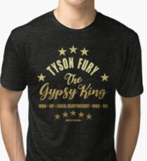 Camiseta de tejido mixto Tyson El Rey Gitano Furia