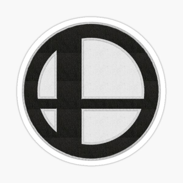 Smash Ball Patch | Super Smash Bros. Logo Embroidered Patch Style Sticker