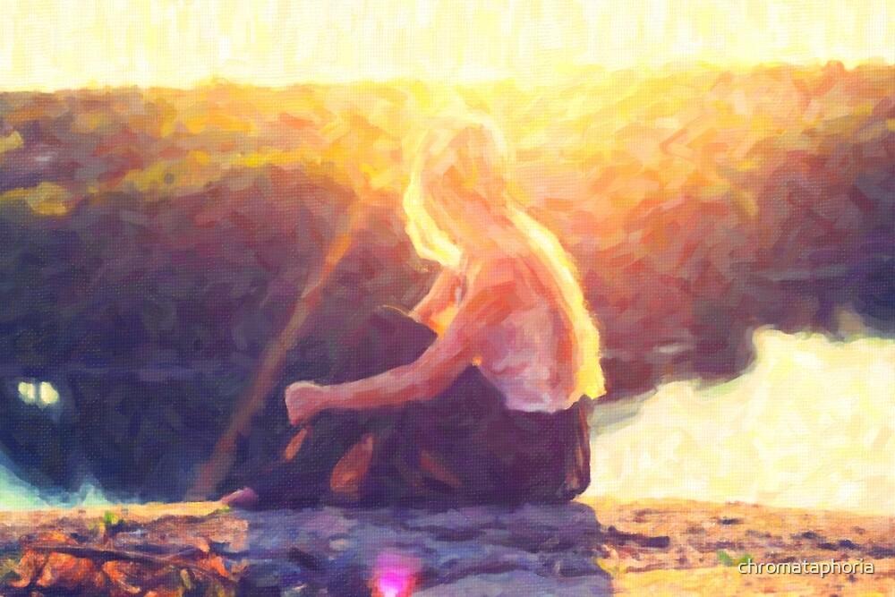 The Sun Watcher by chromataphoria