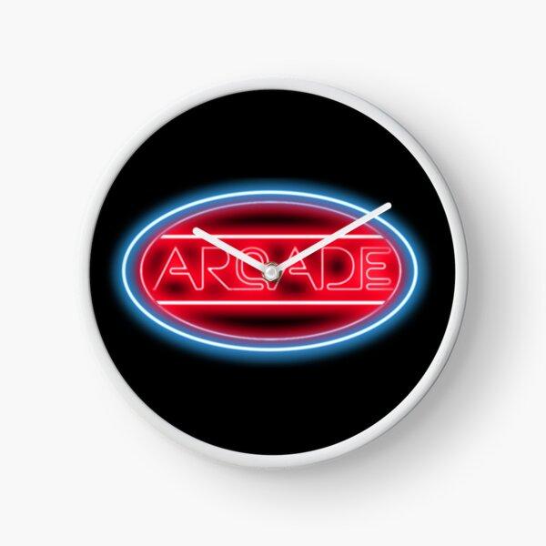 Arcade Neon Sign Clock