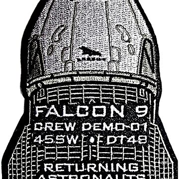 The 45th Space Wing's Patch for DM-1 by Spacestuffplus