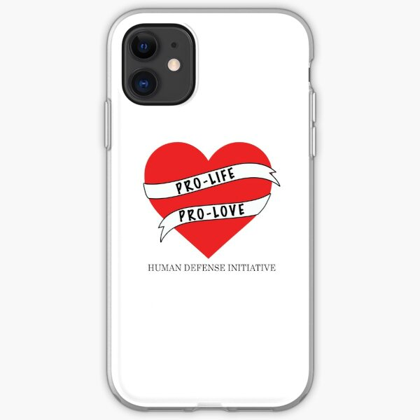 Pro-life Pro-love iPhone Soft Case