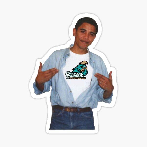 coastal carolina obama Sticker