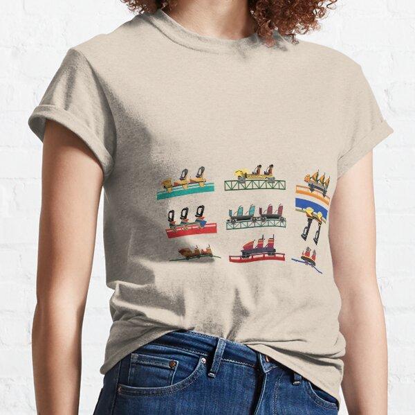 Busch Gardens Africa Coaster Cars Classic T-Shirt