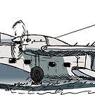 Grumman Mallard Daniel Bolton Flying Boat  by Statepallets