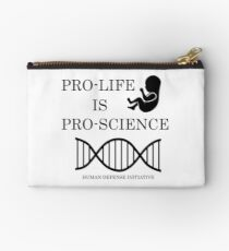 Pro-life, pro-science Studio Pouch
