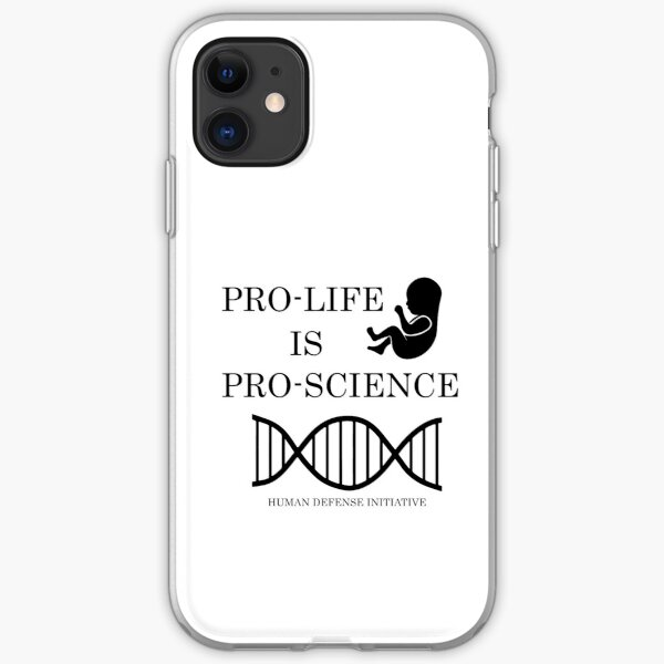 Pro-life, pro-science iPhone Soft Case