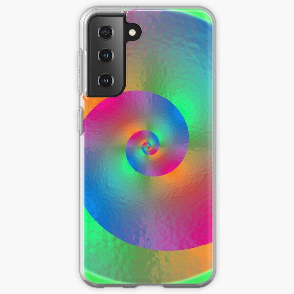 Colorful Spiral Samsung Galaxy Soft Case