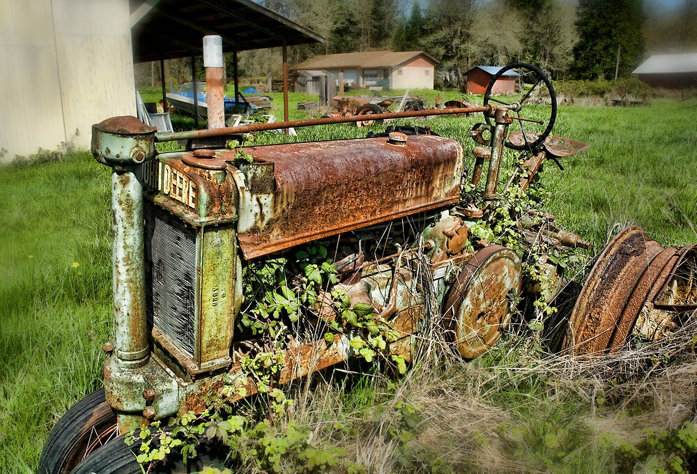 Nothing Rusts Like A Deere by Randall Scholten