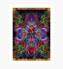 Vision with Tulips Art Print