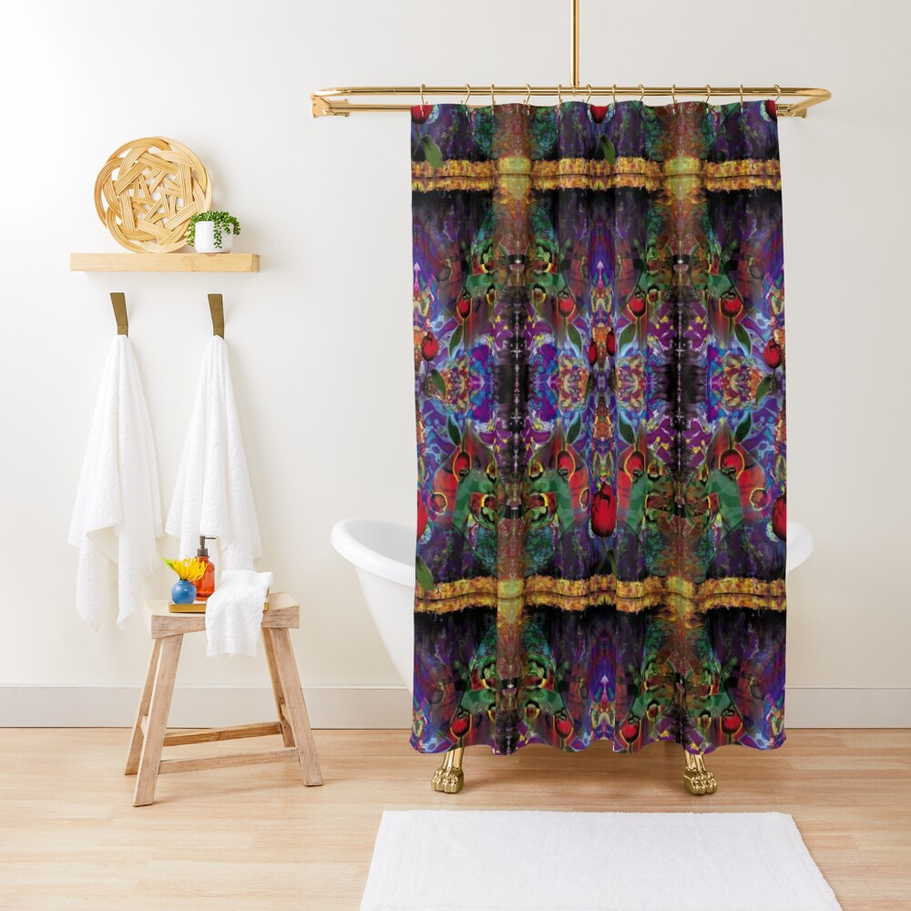 Vision with Tulips Shower Curtain