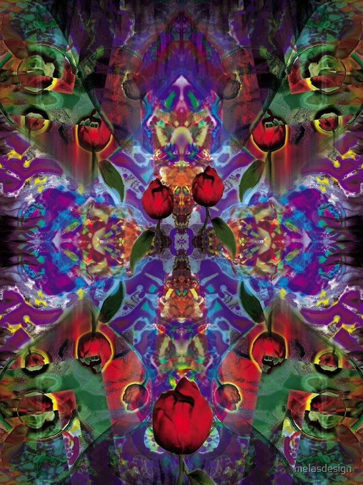Vision with Tulips by melasdesign