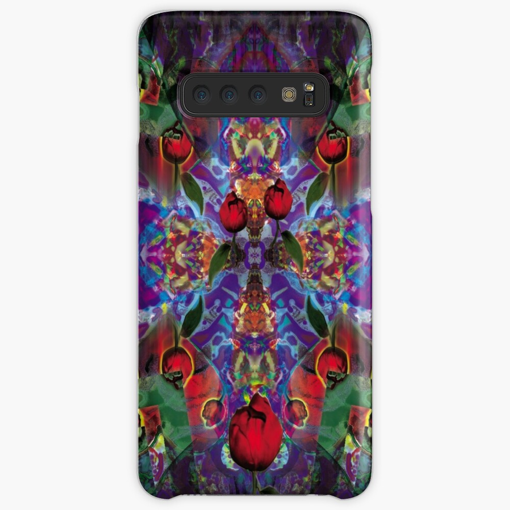 Vision with Tulips Case & Skin for Samsung Galaxy