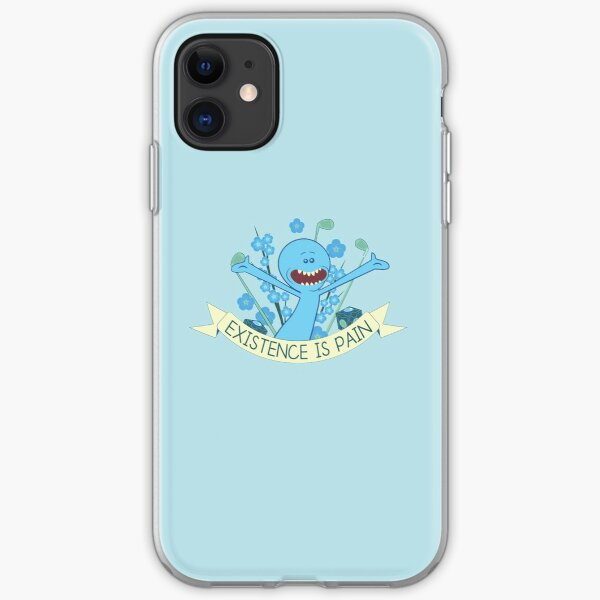 Existence is Pain iPhone Soft Case