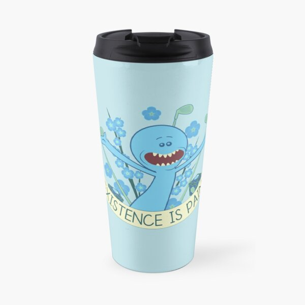 Existence is Pain Travel Mug