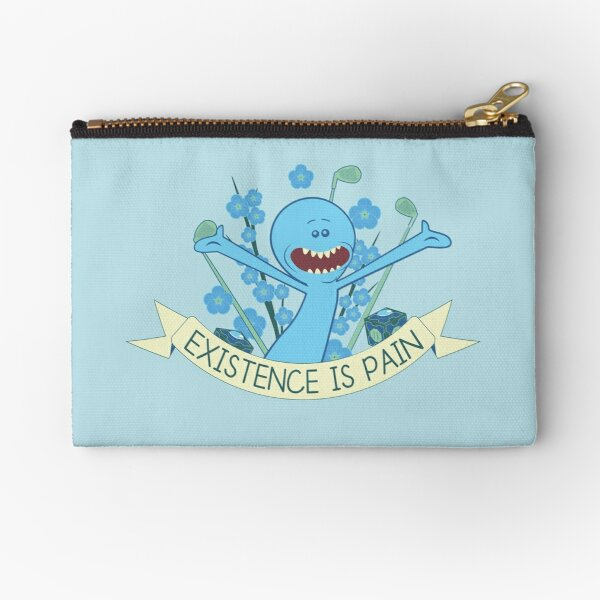 Existence is Pain Zipper Pouch