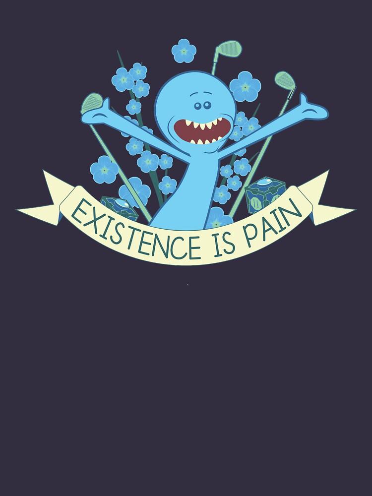 Existenz ist Schmerz von radi-jay