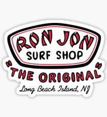 RJ Surf Shop Long Beach Island, NJ Sticker