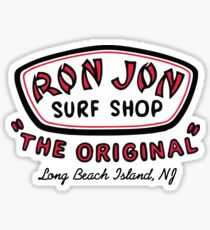 RJ Surf Laden Long Beach Island, NJ Sticker