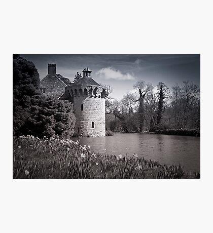 Moody Scotney Castle Photographic Print