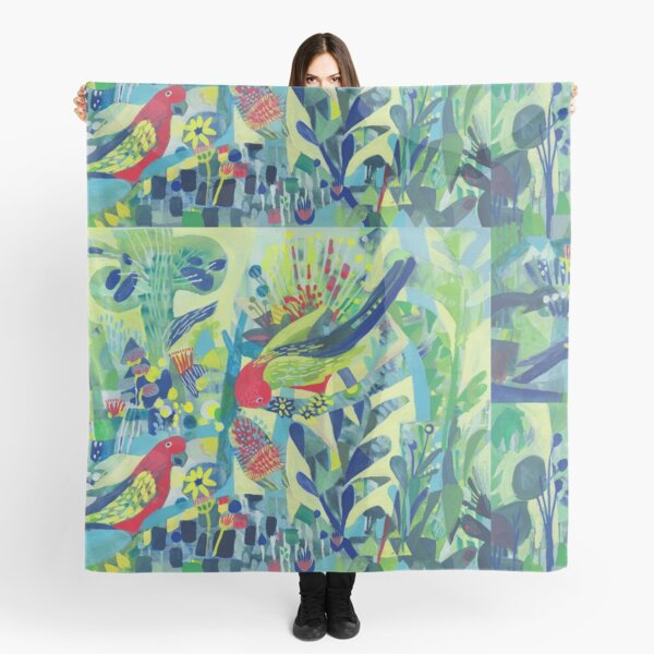 Good Morning Parrots! Scarf