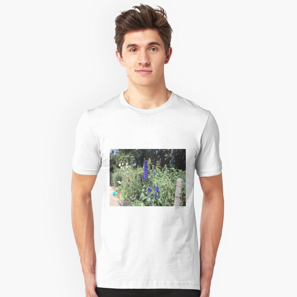 deep blue Unisex T-Shirt Front