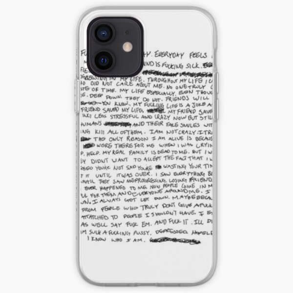 RIP XXXTENTACION Coque souple iPhone