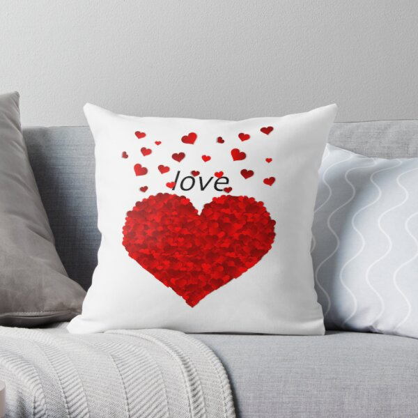 Valentine's Day Love Throw Pillow