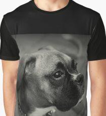 Eine Boxer-Profil ~ Boxer Dogs-Serie Grafik T-Shirt