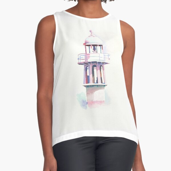Pinky lighthouse Sleeveless Top