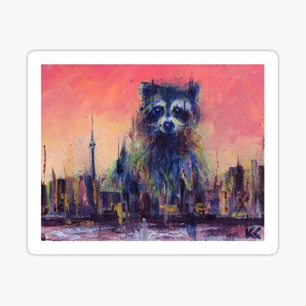 Raccoon City Sticker