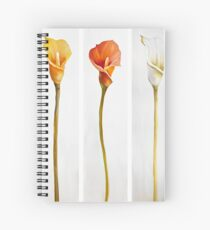 Lily Flowers Spiral Notebook