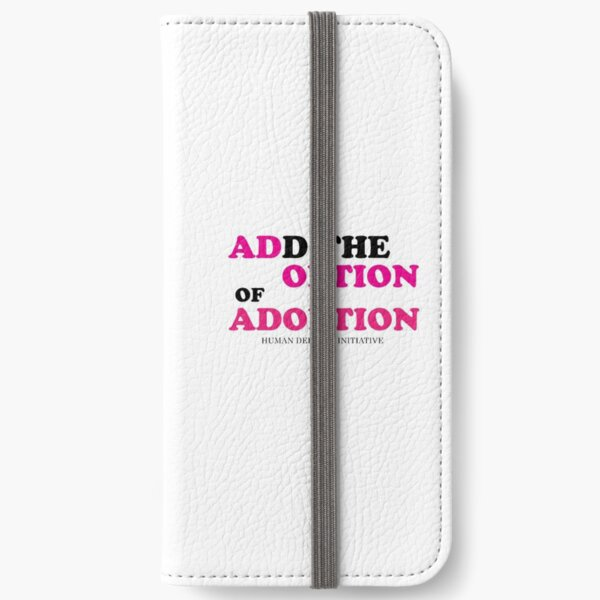 Adoption Option iPhone Wallet