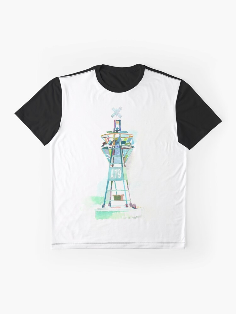 Vista alternativa de Camiseta gráfica Boya A19