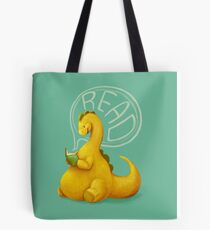 Even Dinosaurs Love to Read Tote Bag