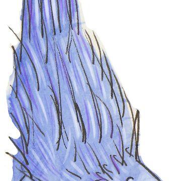Purple Porcupine by HungryRam45
