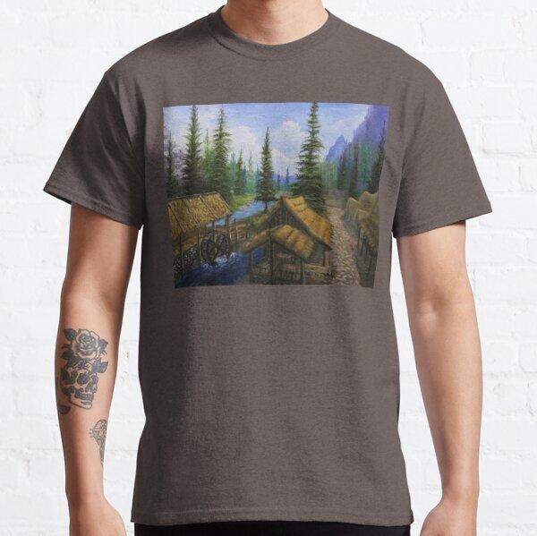 Riverwood Oil Painting Classic T-Shirt