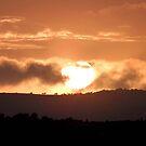Sun going down over Morecambe Bay by hoppityhops