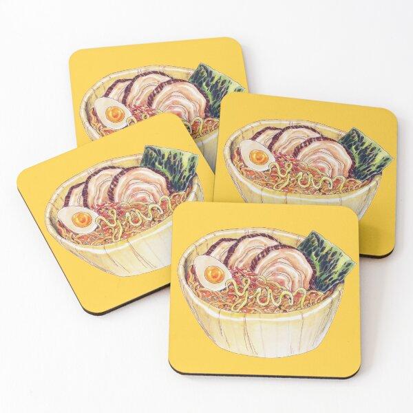 Ramen Coasters (Set of 4)