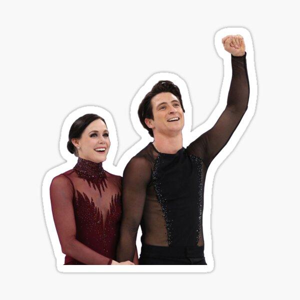 Scott Moir and Tessa Virtue Sticker