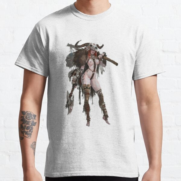Barbarian woman merchandise Classic T-Shirt