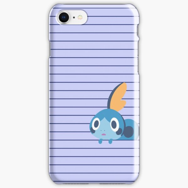 Sobble Hanging out Pattern iPhone Snap Case