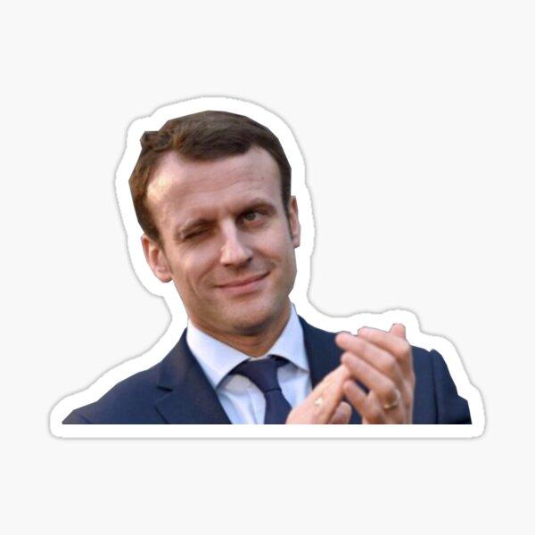 Emmanuel Macron Sticker