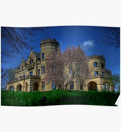 Spring at Joslyn Castle  Poster